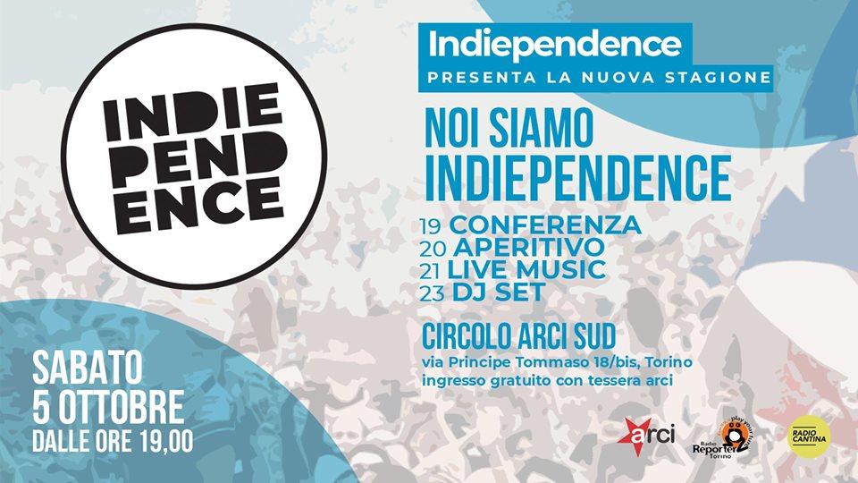 Noi siamo Indiependence | Showcase @Circolo ARCI Sud
