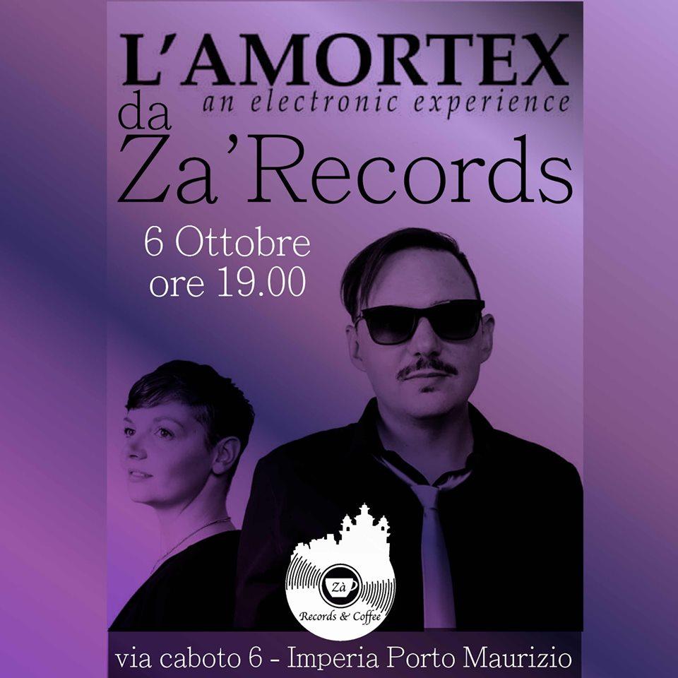L' Amortex Live allo Za' Records !!