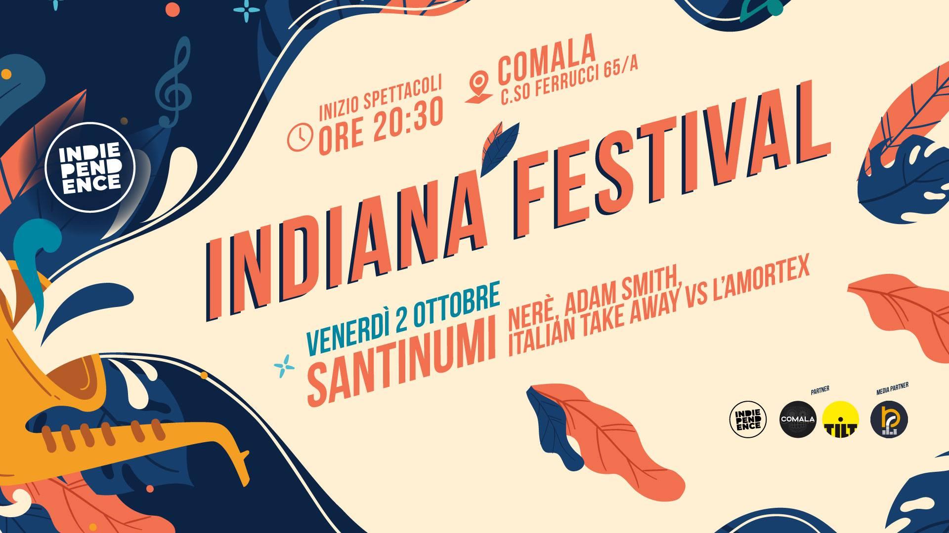 IndianaFestival #2 | Santinumi, AdamSmith, Nerè, ITAvsL'Amortex